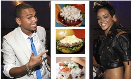 "Restaurant Unveils, Quickly Rethinks Chris Brown and Rihanna-Inspired ""Black & Bleu"" Burger"