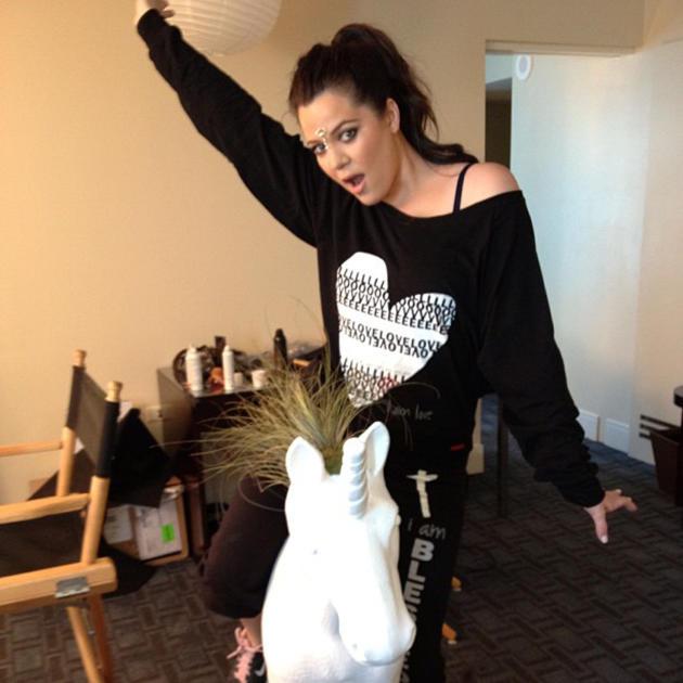 Khloe Kardashian Instagram Pic