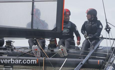 Kate Middleton Takes Part In a Sail Team Training Exercise