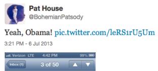 Barack Obama: Following Porn Company on Twitter!
