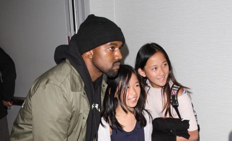 Kanye West, Demi Lovato & More: Star Sightings 1.28.16