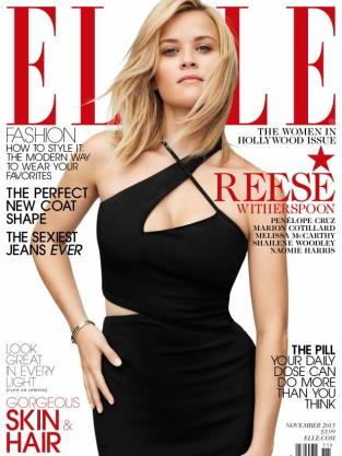 Reese Witherspoon Elle Cover