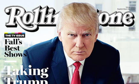 Donald Trump Rolling Stone Cover