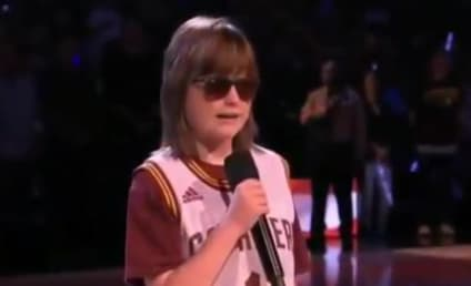 Blind Teenager Wows Crowd with National Anthem Rendition
