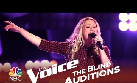 Amanda Lee Peers - Put the Gun Down (The Voice Audition)