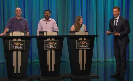 Seth Meyers Plays Fortune Cookie or True Detective? WATCH!