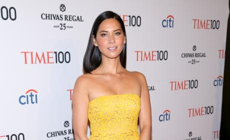 Olivia Munn in Yellow