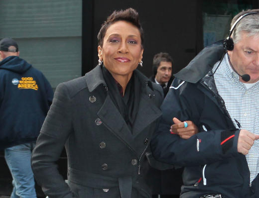 Robin Roberts on the Street
