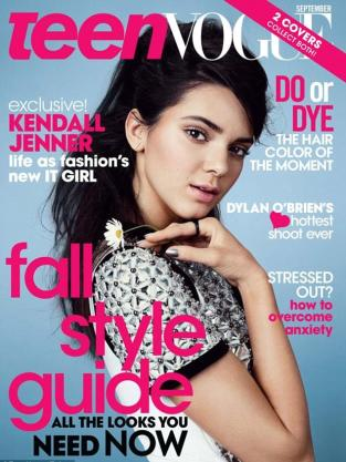 Kendall Jenner Teen Vogue Cover