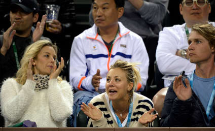 Kaley Cuoco: Dating Karl Cook, or Pranking Her Fans?