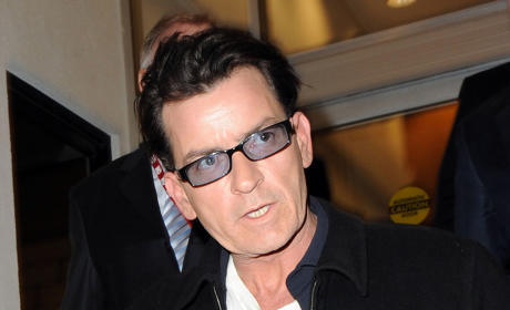 Charlie Sheen & Bree Olson: Split, But Still Close