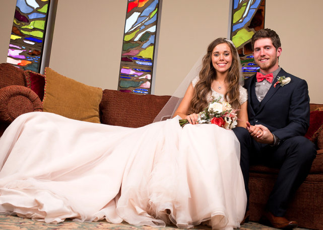 Jessa Duggar, Ben Seewald Wedding Photo