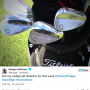 Morgan Hoffmann Honors Anchorman on PGA Tour, Really Loves Lamp
