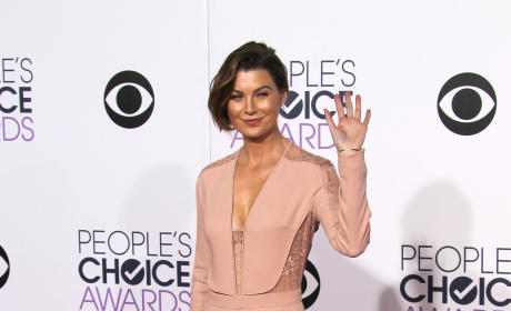 Ellen Pompeo at the People's Choice Awards