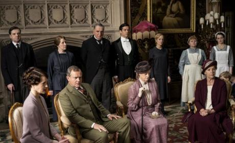 Downton Abbey Cast Photo