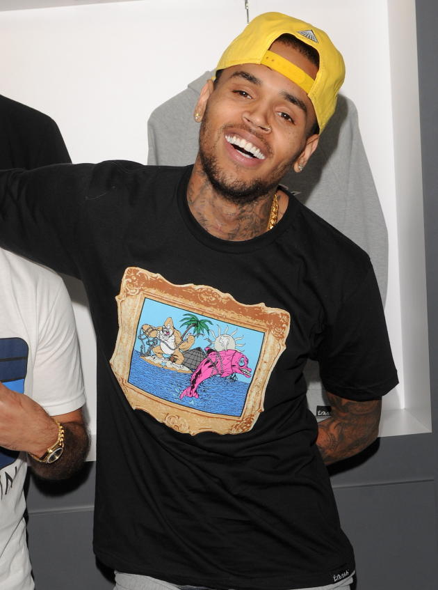 Chris Brown Modeling