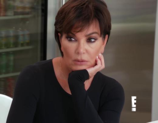 Kris Jenner Looks Worried