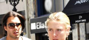 Maria Sharapova and Sasha Vujacic: Engaged!