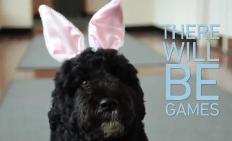 Bo Obama Easter Video