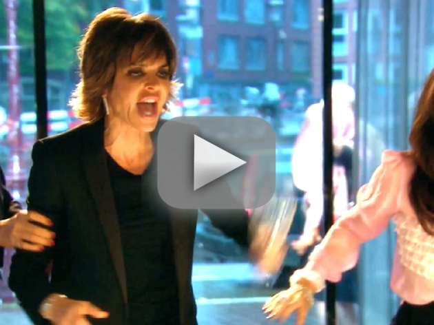 Lisa Rinna vs. Kim Richards!