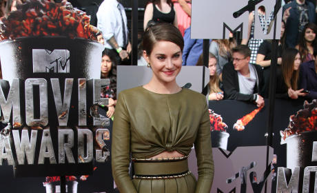 Shailene Woodley at MTV Movie Awards