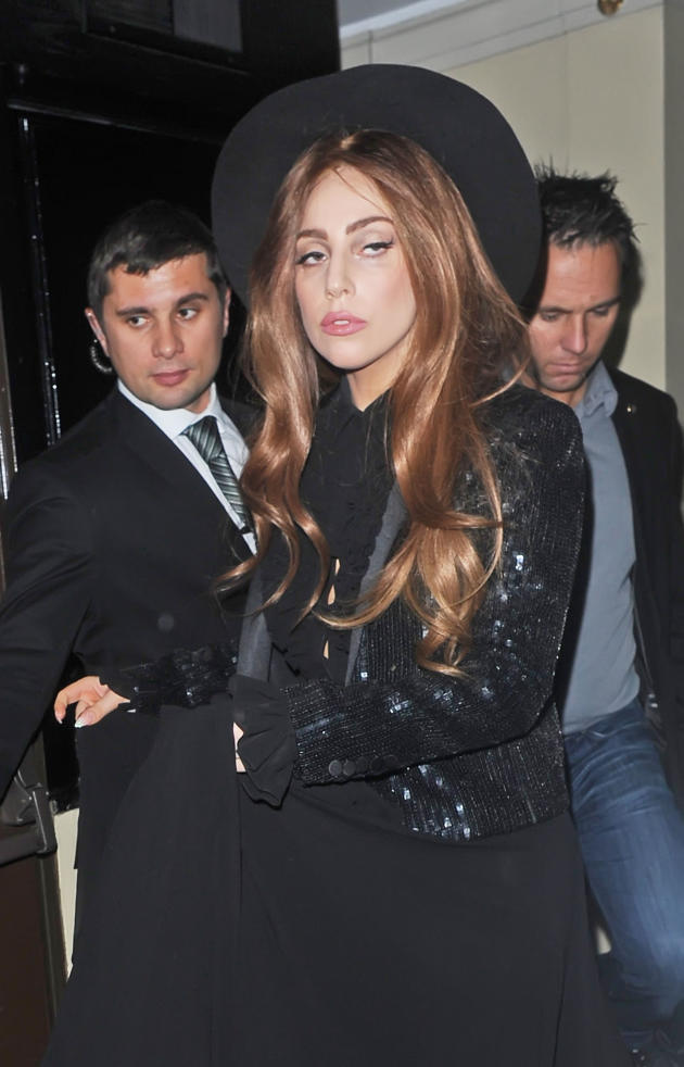 Lady Gaga in London