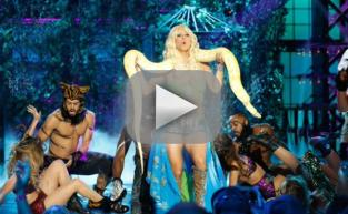 Kaley Cuoco Bares Midriff, Lip Syncs to Britney Spears: WATCH!