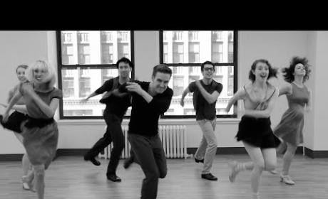 "Broadway Dancers Recreate ""Cups,"" Tap Style!"