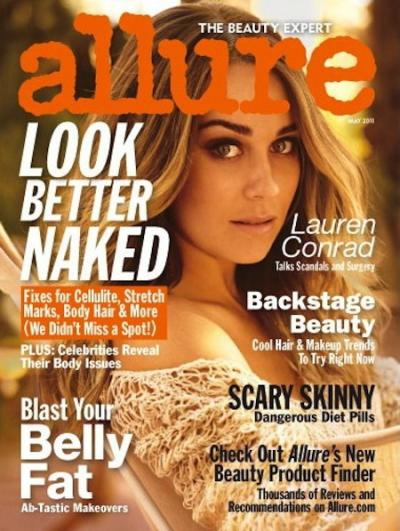 Lauren Conrad Allure Cover