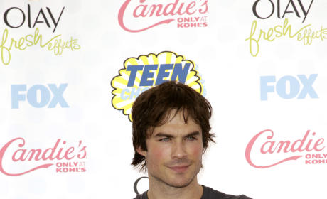 Ian Somerhalder at the 2014 Teen Choice Awards