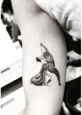 Rumer Willis DWTS Tattoo