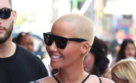 Amber Rose Opens Up About Being Slut-Shamed By Kanye West, Wiz Khalifa