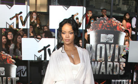 Rihanna at MTV Movie Awards