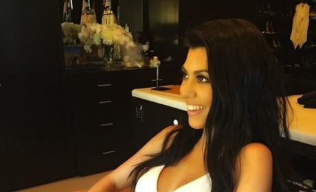 Kourtney Kardashian Underwear Photo