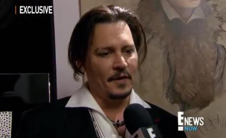 Johnny Depp: Drunk at Amber Heard's Movie Premiere?