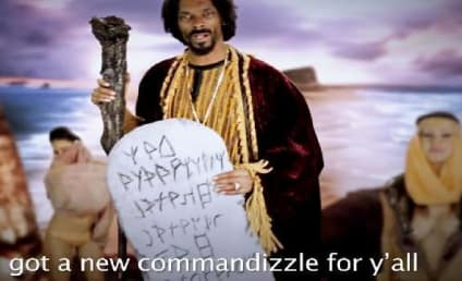Snoop Dogg Stars as Moses in Epic Rap Battle Against Santa Claus