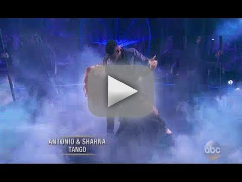 Sharna burgess suffers nip slip on dancing with the stars recove