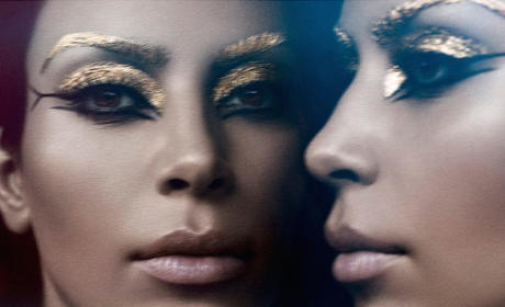 Kim Kardashian Channels Elizabeth Taylor in Weird Photo Shoot
