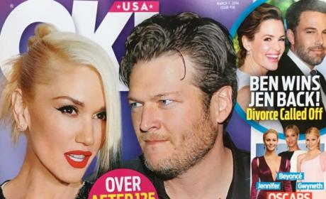 OK! Magazine - Gwen and Blake Break Up...Again