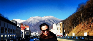 Johnny Weir in Sochi
