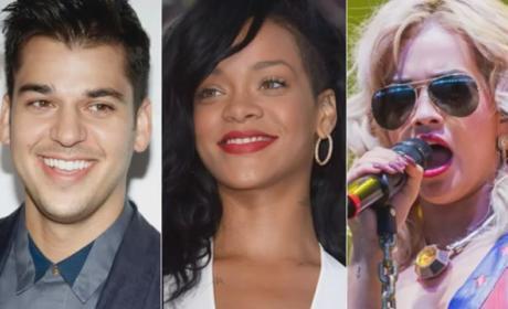Rob Kardashian Klarifies Rihanna Relationship