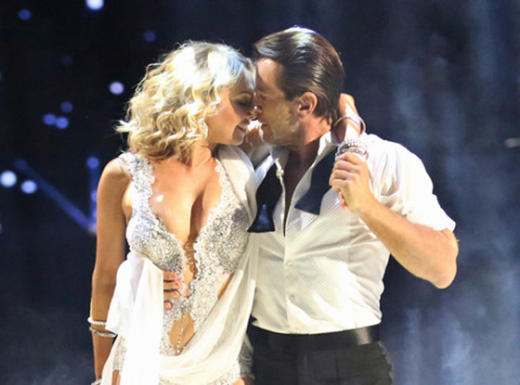Robert Herjavec And Kym Johnson: Dancing With The Stars