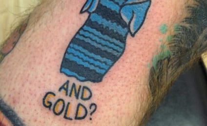 Someone Actually Got a Tattoo of #TheDress