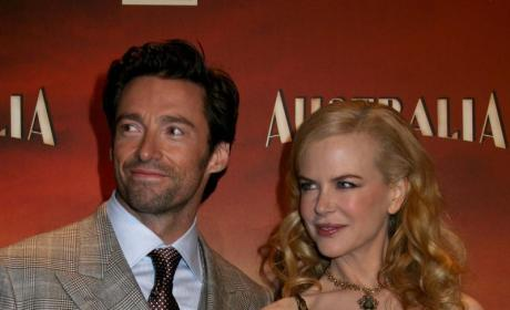 Nicole Kidman and Hugh Jackman Turn Heads in Madrid
