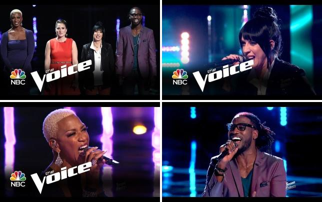 The voice top 8 instant save elimination