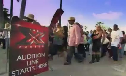 "Nick Voss Gets in ""Trouble"" on The X Factor"