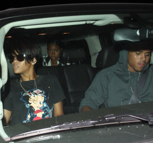 Chris Brown, Rihanna Photo