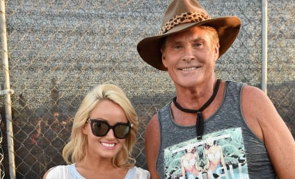 David Hasselhoff: Engaged to Hayley Roberts!