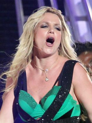 Britney Spears O Facing Hard