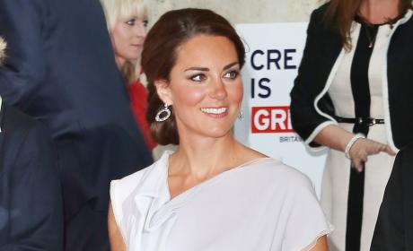 "Katie Couric: Kate Middleton Too Thin, ""Needs to Eat More"""